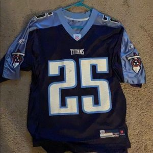 Rare LenDale White Tennessee Titans Jersey